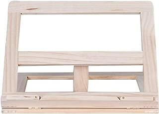 Porte-livre pliable 25cm en bois de Shisham avec des marqueteries en laiton Artisanat indien
