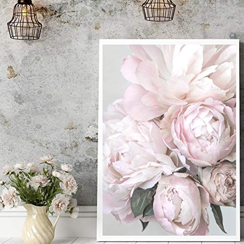 adgkitb canvas Flowers Poster Wall Art Stampe su Tela Minimalista Baby Room Camera da Letto Home Decor Pictures 30x45cm No Frame
