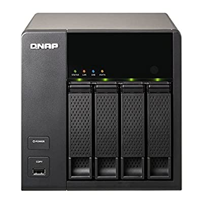 Qnap Pre-configured 4-Bay Raw NAS Drive