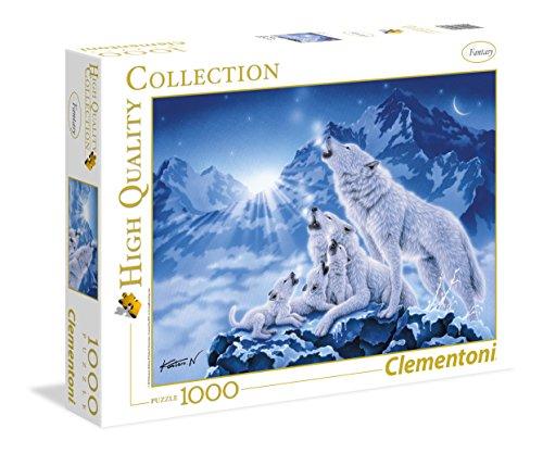 Clementoni 39280.3 - 1000 T Collection Wolfsrudel, Klassische Puzzle