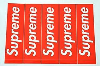 SUPREME(シュプリーム)ステッカー ボックスロゴ:5枚セット