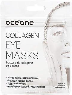 Máscara de Colageno Para os Olhos, Collagen Eye Mask, Océane