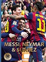 neymar with messi and suarez