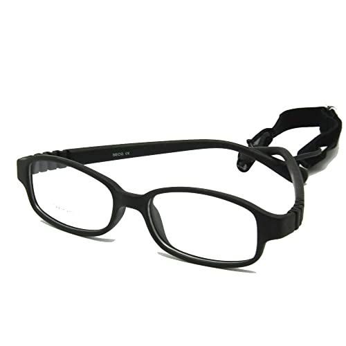 a409adfd9658 EnzoDate Children Optical Glasses Frame with Strap Size 49-16, No Screw  Flexible Girls