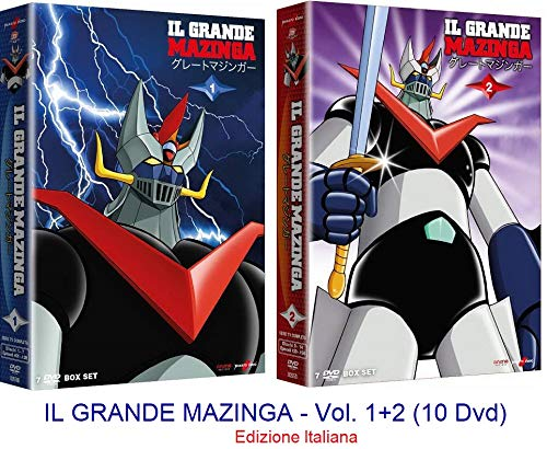 IL GRANDE MAZINGA - Vol. 1+2 (14 Dvd) Ed. Italiana