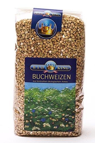 BioKing 4x 750g Bio BUCHWEIZEN, ganz (EUR 3,79 / Pkg.)