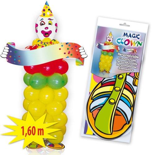 Juguetes Fantasia - Set payaso personalizable globos