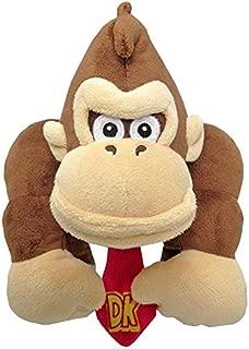 Little Buddy Super Mario All Star Collection 1586 Donkey Kong Stuffed Plush, 8