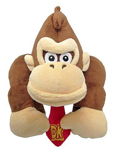 "Little Buddy Super Mario All Star Collection 1586 Donkey Kong Stuffed Plush, 8"""