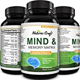 Enhance Brain Memory, Boost Focus, Improve Clarity Mind Booster Supplement for Men and Women Contains Vitamins and Pure Herbal Ingredients a Natural Cognitive Brain Nutrition