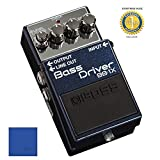Boss BB-1X Bass Driver Bass Overdrive/Distortion Effects Pedal with 1 Year EverythingMusic Extended Warranty Free