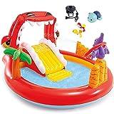 Piscina Inflable, Centro De Juegos De Agua Inflable para Niños, Adecuado para Niños Y Niñas Mayores De 2 Años