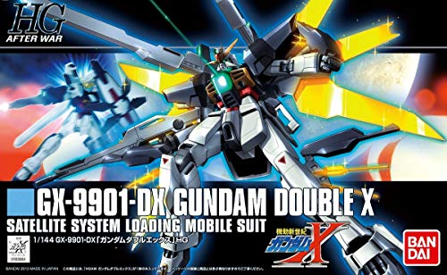 HGAW 1/144 GX-9901-DX ガンダムダブルエックス (機動新世紀ガンダムX)