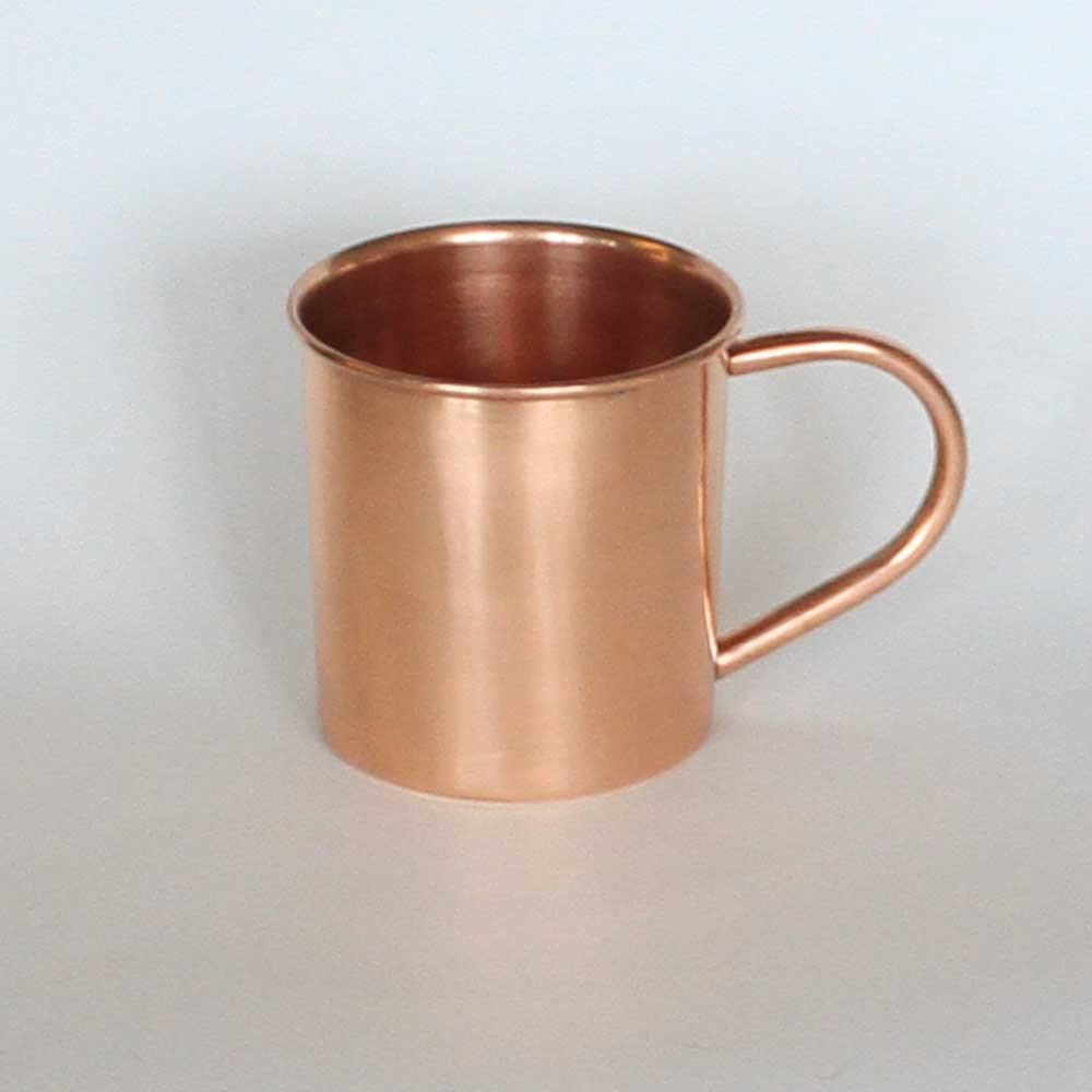 Copper Moscow Mule Mug - 100% Tampa Mall famous U oz. Cup 16 Pure Unlined