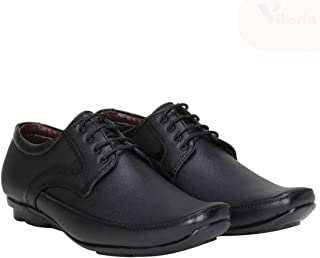 Vitoria Men's Black Lace-up Formal Shoes
