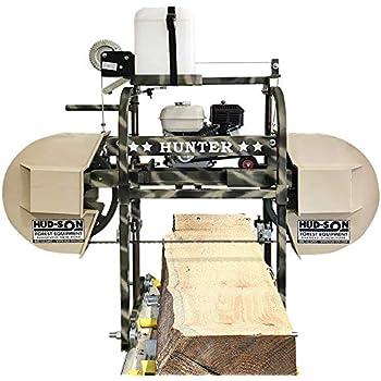 Hud-Son Hunter Sawmill Bandmill Saw Mill Portable Sawmill