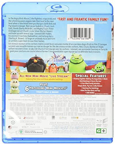 Angry Birds 2 - Le film (2019) [Blu-ray + DVD] (Bilingue) - 2