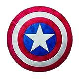 Bassetti 9255333 Captain America Cuscino Scudo Colore Rosso Singolo