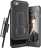 Encased iPhone SE Belt Clip Case (2020 DuraClip) Slim Cover with Holster Black