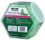 MSA Safety Works 10059484 Expandable Foam Ear Plugs in Counter Display, 100-Pair by Safety Works
