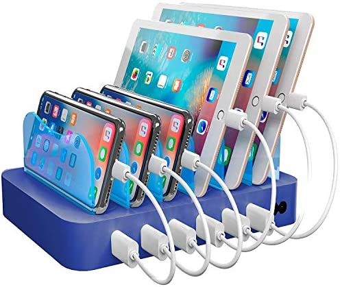 Hercules Tuff Charging Station for Multiple Devices with 6 USB Fast Ports and 6 Short Mixed product image