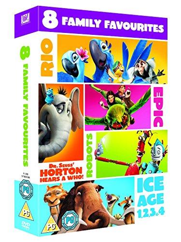 Blue Sky - 8 Family Favourites (8 Dvd) [Edizione: Regno Unito] [Edizione: Regno Unito]