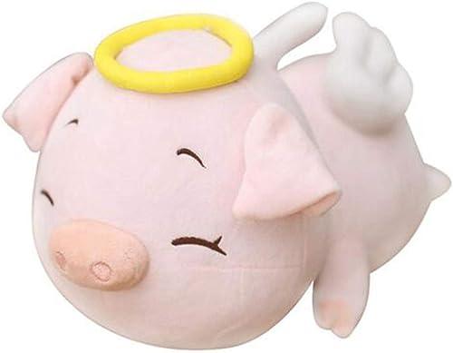 barato en alta calidad Naughty baby Peluche De Cerdo Doll Piggy Piggy Piggy Almohada Cerdo Doll Angel Cerdo Cerdo Hembra Piggy Doll Enviar Cumpleaños Ceremonia Infantil, 80Cm.  A la venta con descuento del 70%.