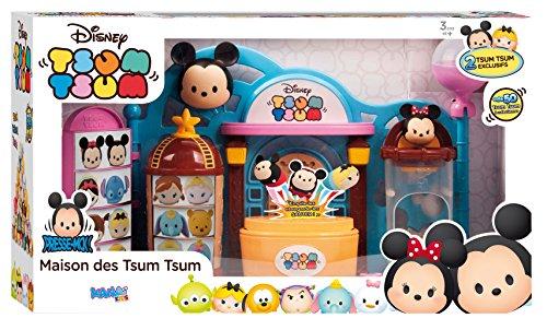 Asmokids - KK5803 - Maison des Tsum Tsum - Disney - Multicolore