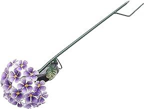 UKCOCO Hortensia Bloem Stake Lamp Paars Outdoor Solar Tuin Bloem Licht Villa Pathway Landschap Flower Lamp Hortensia Gazon...