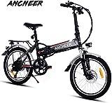BIKFUN Vélo électrique Pliant, avec Batterie Lithium-ION Amovible 36V 8Ah