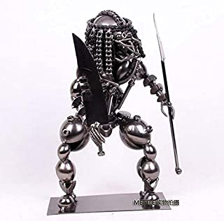 Ornamentesd Office Decoration Home Furnishing Shaped Iron Warrior Monster Robot 18 * 14 * 29