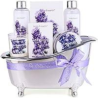 Body & Earth Bath Spa Baskets Gift Set for Women