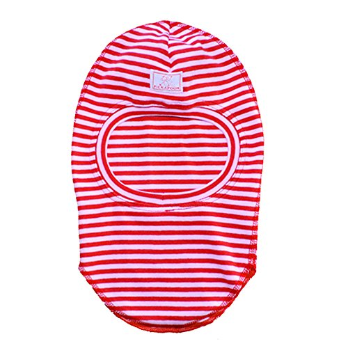 PICKAPOOH Baby/Kinder Schlupfmütze Elyas Bio-Baumwolle, Rot/Rosa, Gr. 50