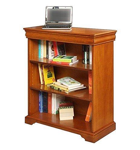 Libreria bassa in stile Luigi Filippo in legno