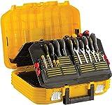 Stanley FMST1-71943 Mallette à outils garnie de 100 outils rangement type coffre valise à roulettes