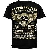 FEA Lynyrd Skynyrd - Mens Alabama 74 T-Shirt Small Black