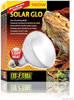 Exo Terra Solar-Glo High Intensity Self-Ballasted Uv/Heat Mercury Vapor Lamp