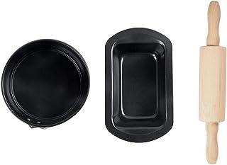 JD Plateau de cuisson, bac de cuisson Jeu de 3 Outils de cuisson de roulement Ardillon de fond de cuisson Plaque de cuisso...