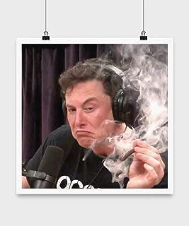 LaserKing Elon Musk Smoking Weed On Joe Rogan Experience Poster 16