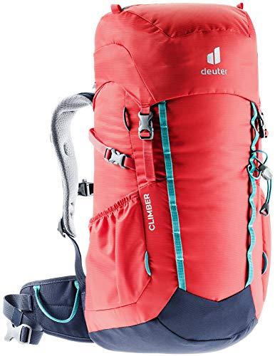 Deuter Climber Mochila de Escalada, Unisex niños, Azul Marino, 22 L