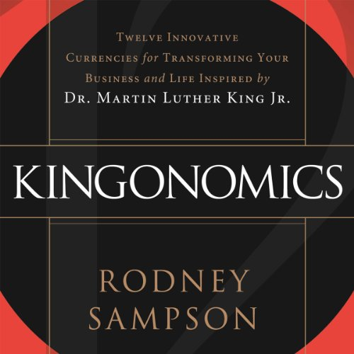 Kingonomics audiobook cover art