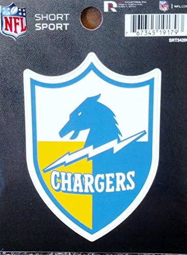 Los Angeles Chargers Retro Logo 3' Die Cut Decal Bumper Sticker Emblem Football