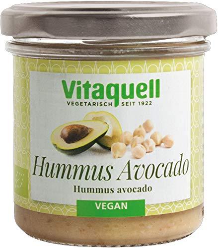 Vitaquell Hummus Avocado Bio Dip, 130 g mit 15 % frischer Avocado