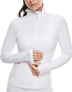 Women's Workout Yoga Jacket Full Zip Running Track Jacket