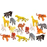 """#1 Rated Jungle Animal Assortment. - Plastic Mini Animal Toys - Educational / Fun Gift Party Giveaway This Is A 100 Piece 'Big Mo's' Jungle Animal Assortment. Party Packers Plastic Mini Jungle Animal Toys Assortment Is 2"""" to 4"""" In Length. Made Of Hig..."""