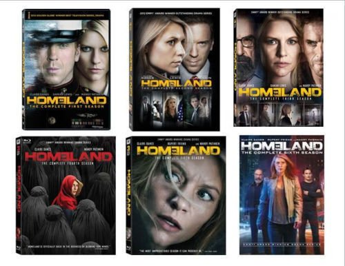 Homeland Season 1-6 Bundle