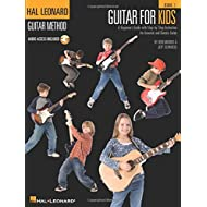 Guitar for Kids: A Beginner's Guide with Step-By-Step Instruction for Acoustic and Electric Guitar (Book & CD)
