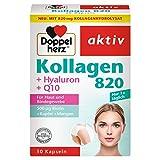 Doppelherz Kollagen 820 mit Hyaluron + Q10, 2er Pack (2 x 30 Kapseln)