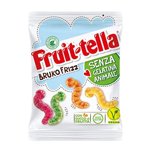 Fruittella Bruko Frizz Caramelle Gommose Frizzanti, Gusto...
