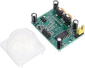 ILS – 3 unidades HC-SR501 infrarrojos ajustables IR Piroeléctrico PIR módulo sensor de movimiento detector de inducción cuerpo humano